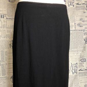 J. Jill Black Wearever knit skirt